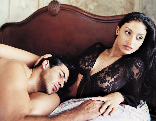 Why did Shreya gave-in to the sexual desires of Ritesh?