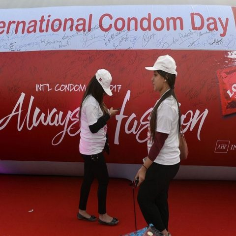 In the name of the Father, The Son and the Holy condom ad ban