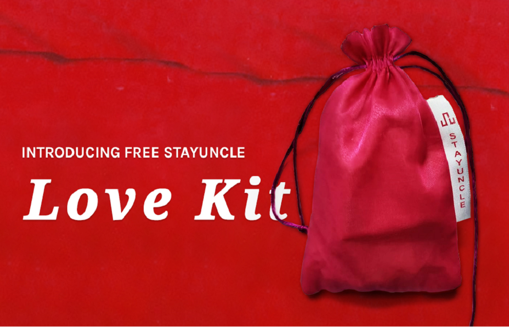 StayUncle launching the red hot sizzling Love kit free of charge for all StayUncle guests